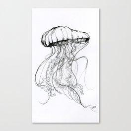 Méduse Canvas Print