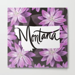 Montana - Bitterroot Metal Print