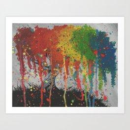 Happy Tree Art Print