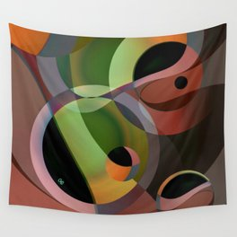 Warm Wind Waning Wall Tapestry