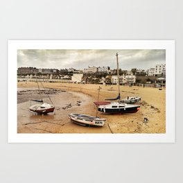 Abandoned Sand in Colour Art Print
