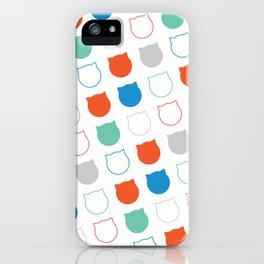 Polka Cat iPhone Case
