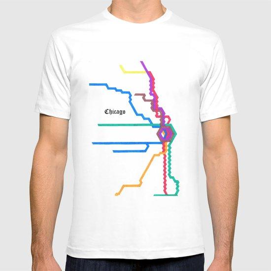 Chicago Subway T-shirt