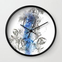 Hawk Illustration Wall Clock
