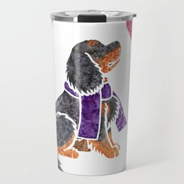 Watercolour Cavalier King Charles Spaniel Travel Mug