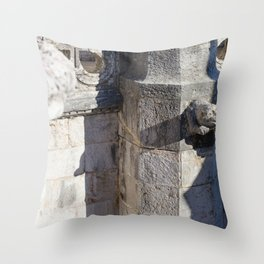 Gargoyle tower of Belem Throw Pillow