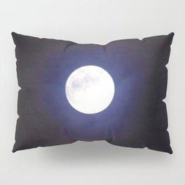 The Moon (Shine Bright) - Jeronimo Rubio Photography 2016 Pillow Sham