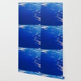 Neon Blue Ocean Wallpaper