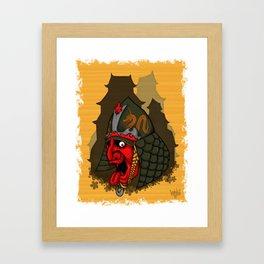 SAMURAI I Framed Art Print