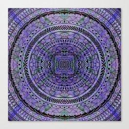 Zentangle Mandala Canvas Print