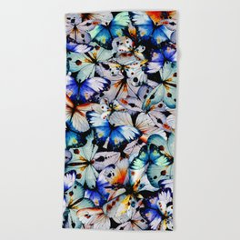 All of the Butterflies Beach Towel