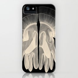 X-Ray of Vintage Gloves (square) iPhone Case