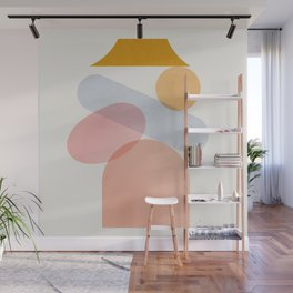 Abstraction_Home_Sweet_Home Wall Mural