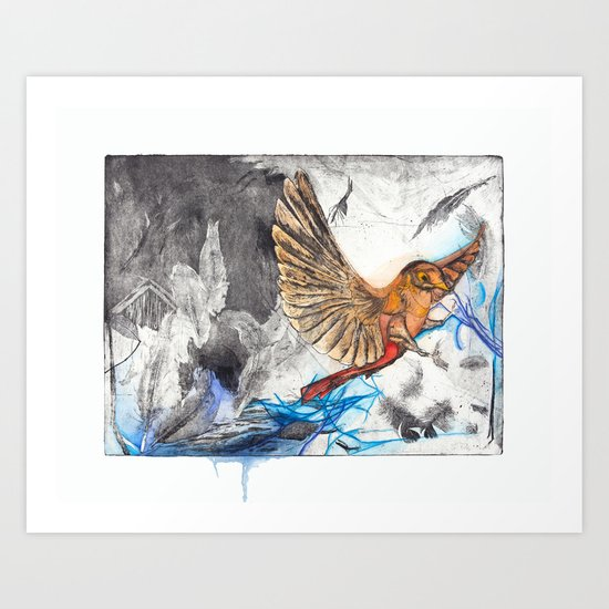 Bird Version I Art Print