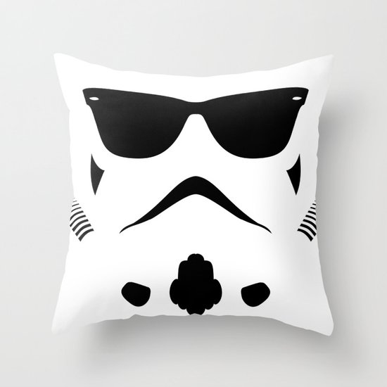 Shadetrooper Throw Pillow