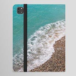 Cote d'Azur Shoreline iPad Folio Case