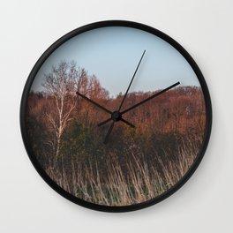 A calm evening Wall Clock