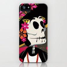 Dia de los Muertos Woman Slim Case iPhone (5, 5s)