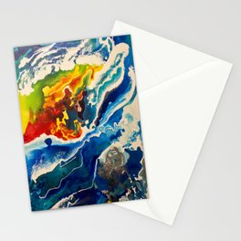 Deep Sea Rainbow Stationery Cards