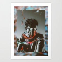 Not in love Art Print