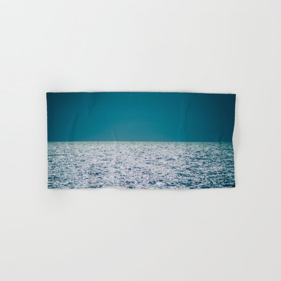 The Ocean Kissing The Shoreline Hand & Bath Towel