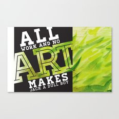 Art Grows Canvas Print
