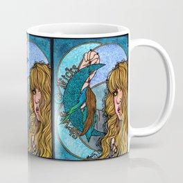 Turquoise Moon Coffee Mug