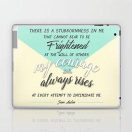 my courage rises Laptop & iPad Skin