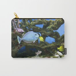 Sea Blue Fish Carry-All Pouch