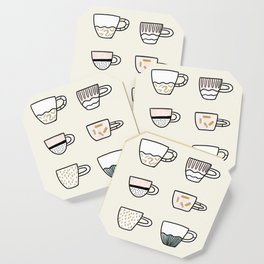 Cups cups cups Coaster