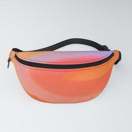 Sorbet Color Swirl Fanny Pack