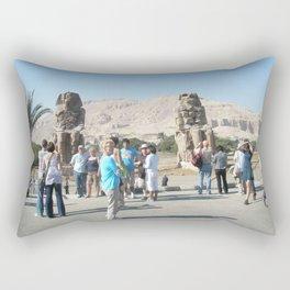 The Clossi of memnon at Luxor, Egypt, 3 Rectangular Pillow