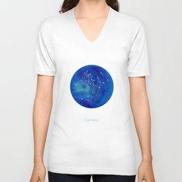 Constellation Sagittarius  Unisex V-Neck