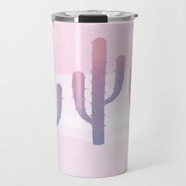 Dreamy Pastel Cacti Design Travel Mug