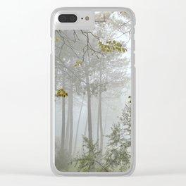 Dream forest. Sierras de Cazorla, Segura y Las Villas Natural Park. Square Clear iPhone Case