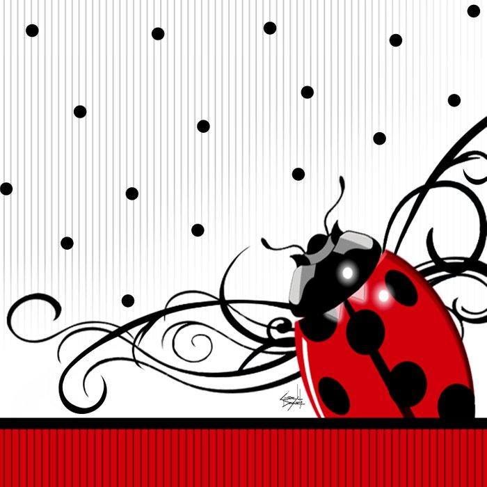 FANCY LADYBUG | red Comforters