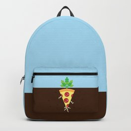 Pizza is a Vegetable Backpack