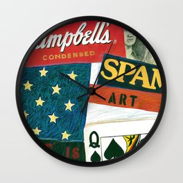 American Icon Wall Clock