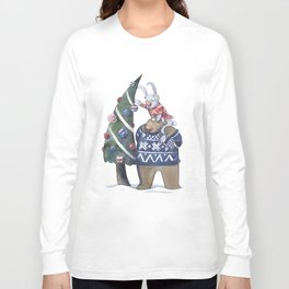 New year tree Long Sleeve T-shirt