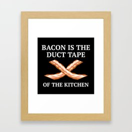 Duct Tape Of The Kitchen Framed Art Print