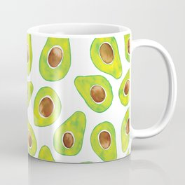 Watercolour Avocados Coffee Mug