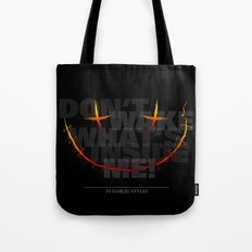 don't wake what's inside me! Tote Bag