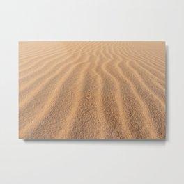 Stockton Sand Dunes | NSW Australia  Metal Print