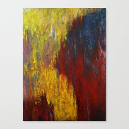 Dripping Color Canvas Print