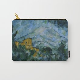 Paul Cezanne - Mont Sainte-Victoire and Chateau Noir Carry-All Pouch