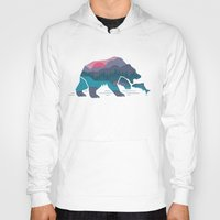 country Hoodies featuring Bear Country by Rick Crane