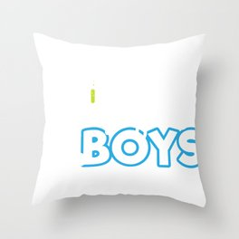 Science Boy Science is For Boys Throw Pillow