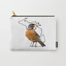 Michigan – American Robin Carry-All Pouch