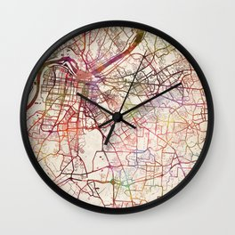 Louisville Wall Clock