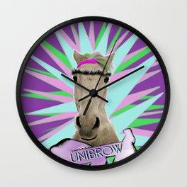 Unibrow Wall Clock